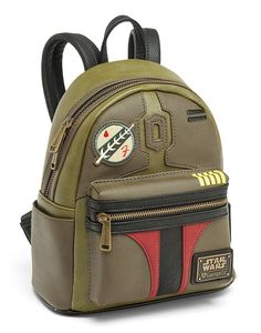 Be the best bounty hunter in the galaxy and look the part with a mini backpack inspired by the legend. Please do not feed to Sarlacc.