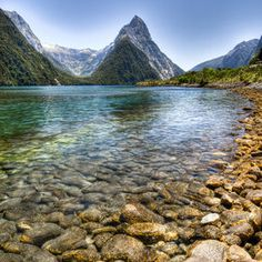Milford Sound , Fiordland National Park, South Island,  New Zealand