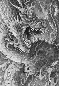 - Tattoo Thinks Chinese Dragon Art, Chinese Dragon Tattoos, Tattoo Studio Interior, Squid Tattoo, Story Drawing, Dragon Tattoo Designs, Fantasy Dragon, White Dragon, Creature Concept