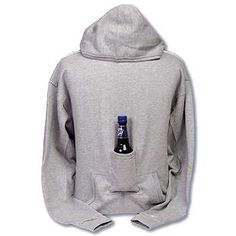 Perfect gift for the college kid. The best tailgate outfit around. This sweatshirt from VAT19, holds your beer leaving you with two free hands to do things like carry more beer, text or fist pump. Bonus, the Beer Pouch Sweatshirt is a hoodie. Could a sweatshirt be more perfect? $30    vat19.com