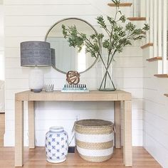 Beautiful Entry Table Decor Ideas to give some inspiration on updating your house or adding fresh and new furniture and decoration. table decor modern Best Entryway Table Ideas to Greet Guests in Style Entrance Table Decor, Entry Tables, House Entrance, Entryway Decor, Table Decorations, White Entry Table, Entryway Ideas, Sofa Tables, Hallway Ideas