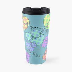 'Pastel Cardiac Rhythm Hearts' Travel Mug by Gail Gabel, LLC Cardiac Rhythms, Gabel, Canvas Prints, Art Prints, Nursing Students, Mug Designs, Sell Your Art, Travel Mug, Finding Yourself