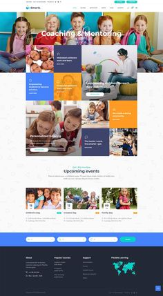 Knowledge is fun with eSmarts, a theme for education and LMS. This stunning WordPress theme gives you all the tools needed to create education website perfect for presenting any type of school or online course. Web Design Trends, Web Design Tips, Layout Design, Website Design Layout, Website Designs, Website Themes, Website Design Inspiration, Portfolio Design, Cute Pyjama