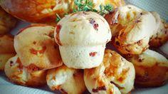 Neu im Blog Recipe: Cheese & Bacon Muffins