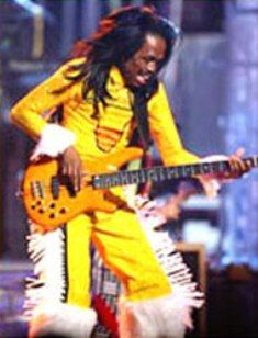 Verdine White - Earth Wind and Fire's INCREDIBLE bass player. The inspiration for this character..