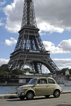 fiat 500 a Parigi