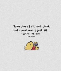 Winnie The Pooh Quotes - The Ultimate Inspirational Life Quotes Pooh And Piglet Quotes, Winnie The Pooh Tattoos, Cute Winnie The Pooh, Winnie The Pooh Sayings, Cute Quotes, Funny Quotes, Bff Quotes, Monday Quotes, Friend Quotes