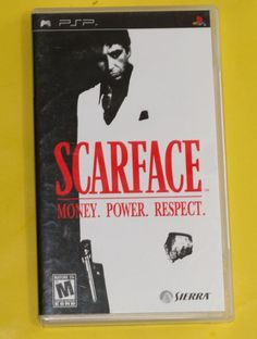 Scarface Money Power Respect Sony PSP Game 2006 Complete Manual Psp, Respect, Sony, Manual, Games, Game, Playing Games, Gaming, Toys