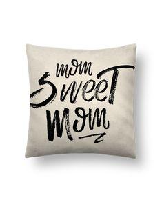 Cojín Piel de Melocotón 45 x 45 cm Mom sweet mom - tunetoo #cojines #decorativos #ideas #salon #modernos #divertidos #estampados #personalizados