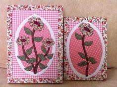 Conjunto caixa e caderno flores rosa | Ra & Ro Patchwork | 14758C - Elo7