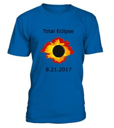 "This awesome graphic t-shirt for you, your friends, and family to wear at United States total solar eclipse event ...            TIP: If you buy 2 or more (hint: make a gift for someone or team up) you'll save quite a lot on shipping.      Guaranteed safe and secure checkout via:   Paypal | VISA | MASTERCARD      Click the GREEN BUTTON, select your size and style.      ?? Click GREEN BUTTON Below To Order ??     To contact us via e-mail, please go to the section ""Frequently asked q..."