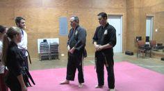 """James Brogan"" and ""Joshua Brogan"" teach a class at the Christian Tae Kwon Do Academy's other location."