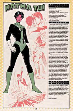 Who's Who: Update Issue - Read Who's Who: Update Issue comic online in high quality Marvel And Dc Characters, Dc Comics Superheroes, Comic Book Characters, Marvel Dc Comics, Character Bio, Character Design, Green Lantern Corps, Green Lanterns, Comic Book Pages