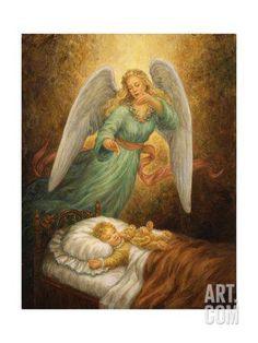 Angel 12 Giclee Print by Edgar Jerins at Art.com