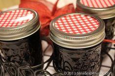Crock Pot Blackberry Vanilla Jam