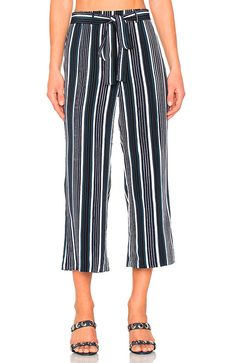 Cupcakes And Cashmere Henderson Stripe Gaucho Pants In Ink Cool Style, My Style, Bold Stripes, Gaucho, Revolve Clothing, Striped Pants, Stripe Print, Jumpsuit, Couture