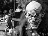 evil clown scary