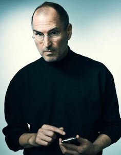 Steve Jobs founder of apple; taught me to never give up on a dream. Photos Portrait Homme, Photo Portrait, Steve Jobs Apple, Steve Jobs Photo, Steve Jobs Biography, All About Steve, Job Pictures, Ronald Wayne, Computer Jobs