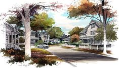 Architectural Rendering - Color Rendering