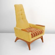 Adrian Pearsall; Lounge Chair for Craft Associates, 1960s.
