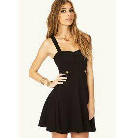 A cute laid-back dress