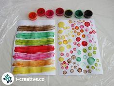 Návod (recept) na domácí prstové barvy pro děti