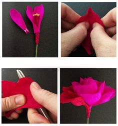 How to Make a Paper Rose | Poppytalk