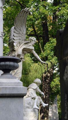 Sophie Biedermann z dziećmi... Cmentarz Stary. (01)