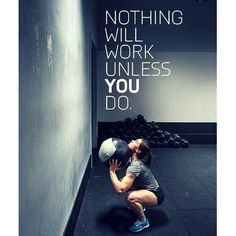 """""""Nothing will work unless you do."""" #truecore #gymlife #fit"""