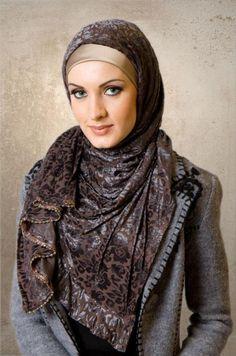 Hijab Fashion - Hijab Styles | Clothes Trends 2013