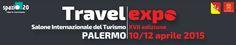 """#WEConcept sarà a #TRAVELEXPO 2015, il Salone del #Turismointernazionale, si svolgerà a #Palermo dal 10 al 12 aprile 2015 nella nuova location del ristrutturando Padiglione 20 dell'ex Fiera del Mediterraneo rinominato """"Spazio.20 idee in movimento""""."""