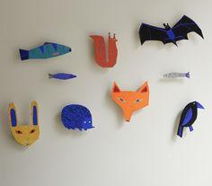 Art inspired by wild animals living in Helsinki. Teemu Järvi, Aimo Katajamäki, Lotta Mattila, Matti Pikkujämsä and Paulina Temmes.