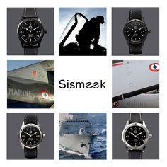 Sismeek, créateur de montres militaires pour les Forces Sous-Marines françaises #Seadiver #watchpassion #privatecollection