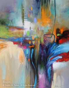 Abstract Contemporary Art  - Artist Tim Parker Naples FL