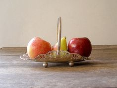 Vintage Fruits Platter  made in India Listed by by MeshuMaSH