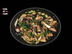 KUŘECÍ PÁNEV na Fenyklu a zelenině!! Low Carb Recepty - YouTube Sprouts, Lowes, Low Carb, Keto, Chicken, Vegetables, Youtube, Vegetable Recipes, Youtubers