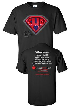 CHD Awareness T-Shirt. I so have to get one of these!!