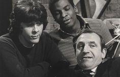 Rising Damp - Leonard Rossiter, Richard Beckinsale & Don Warrington Richard Beckinsale, Leonard Rossiter, Rising Damp, Classic Comedies, Uk Tv, British Comedy, Comedy Tv, Great Tv Shows, Classic Tv