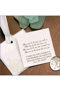 Irish Blessing With Pewter Pocket Clover