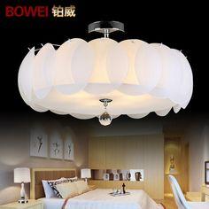 glazen plafond lampen creatieve crystal lichten kinderen slaapkamer ...