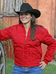 Walls Western Insulated Bull Rider Down Jacket Red Large Walls. $49.58