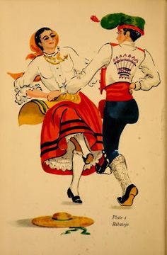 Dances of Portugal - Lucile Armstrong Portuguese Empire, My Ancestors, The Beautiful Country, Azores, My Heritage, Dance Costumes, The Great Outdoors, Vintage Posters, Trip Planning