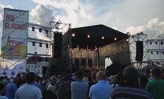 Tak wyglądała scena nad Bulwarem Nadodrzańskim podczas Dni Głogowa 2016   Głogów, 05.06.2016 r.