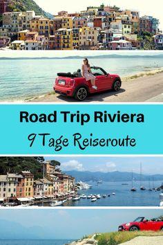 9 Tage Cabrio Road Trip nach Italien und Frankreich. Reiseroute und Reisebericht Urlaub mit dem Auto. Stopps Cinqueterre und Cote d'Azur