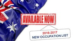 Migrate to Australia – Skilled Occupation List (LOS) as of July 2016
