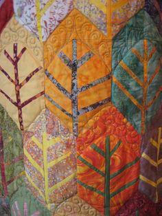 feuilles Bernadette Mayr