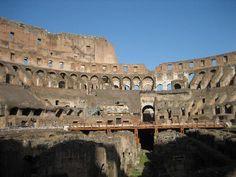 Rome, Italy--Colosseum Interior