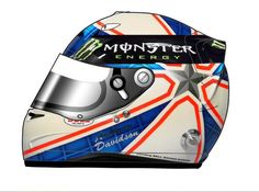 Anthony Davidson Helmet Mercedes By: @PinchVlogging