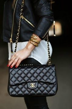 a999e46c2d56 My next handbag splurge will be a Chanel. I have loved this style Chanel  bag for 25 years!
