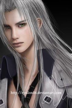 FFVII - Sephiroth by Epsilon86.deviantart.com on @DeviantArt